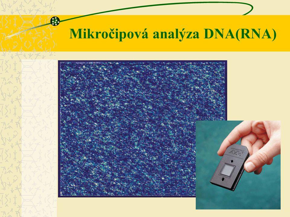 Mikročipová analýza DNA(RNA)