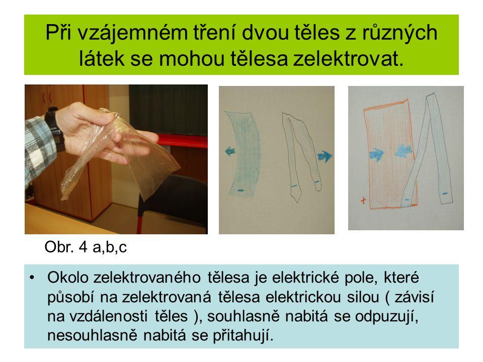 Jak vysvětlit elektrování těles.