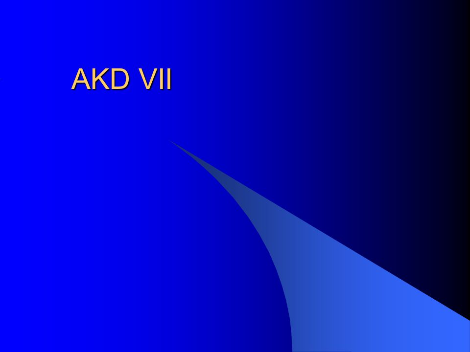 AKD VII