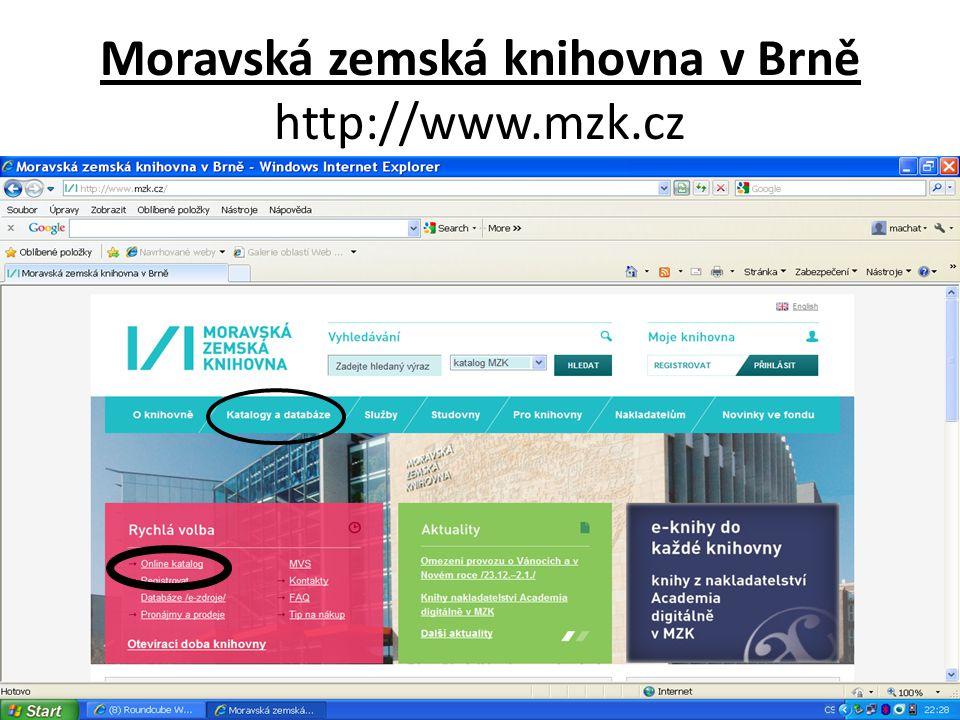 Nová verze katalogu MZK – VUFIND http://vufind.mzk.cz/ Pozor – platí jiná pravidla pro rozšíření než v Alephu .