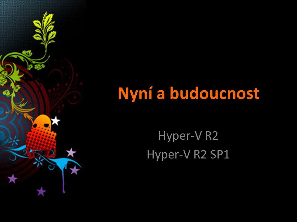 Nyní a budoucnost Hyper-V R2 Hyper-V R2 SP1
