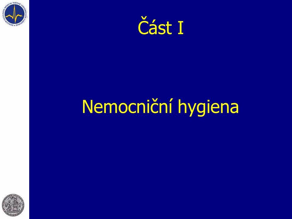 Úkoly nemocniční hygieny  V oblasti  infekčního hospitalismu (problematika nozokomiálních nákaz)  neinfekčního hospitalismu
