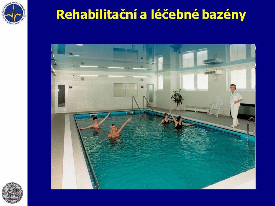 Rehabilitační a léčebné bazény