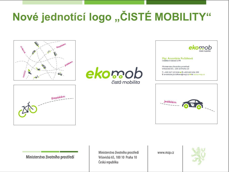 """Nové jednotící logo """"ČISTÉ MOBILITY"""