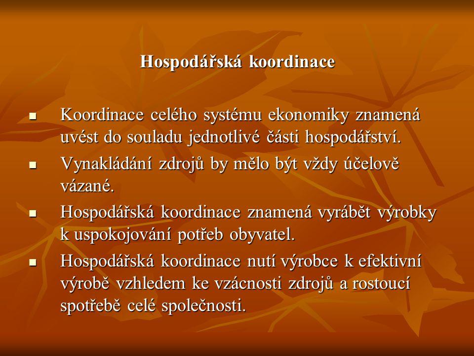 Vztah zdrojů a potřeb ZdrojeHospodářskýmechanismusStatkyPotřeby FUCHS, Kamil: Mikroekonomie.