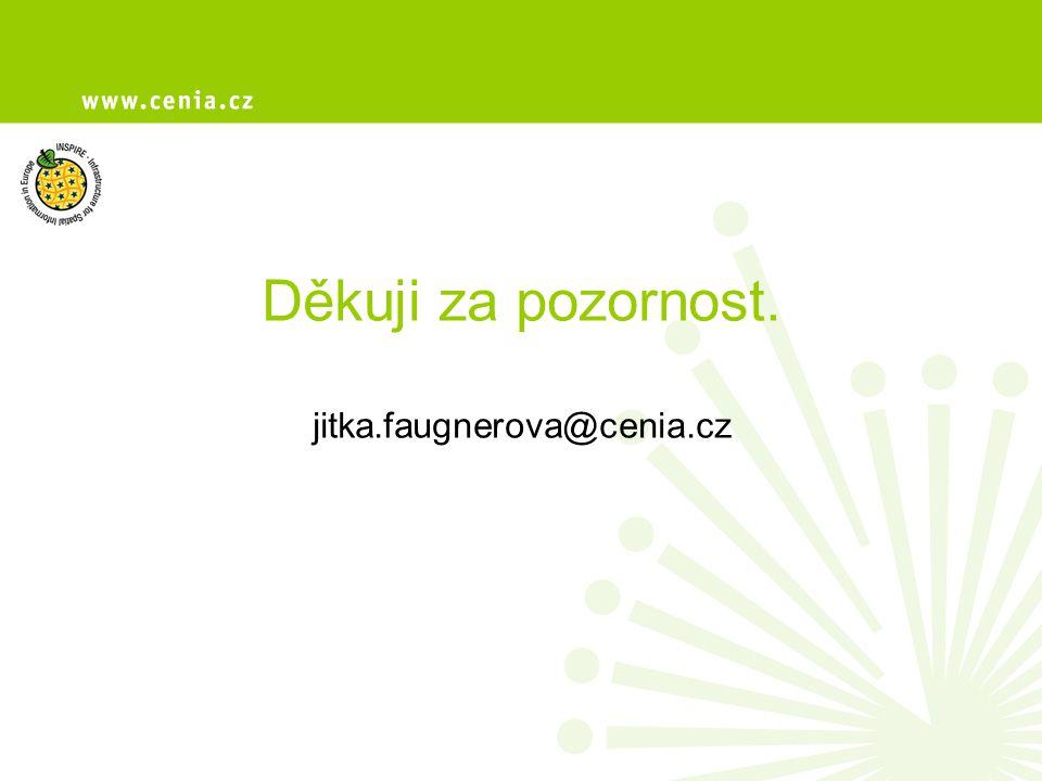 Děkuji za pozornost. jitka.faugnerova@cenia.cz