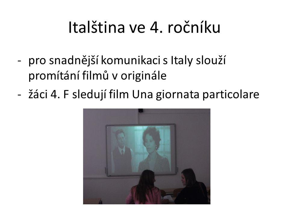 Italština ve 4.