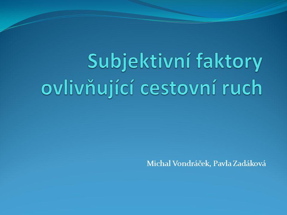 Michal Vondráček, Pavla Zadáková