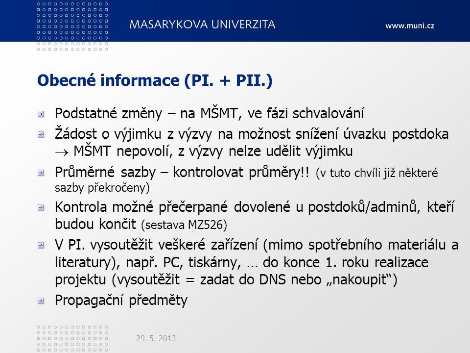 Obecné informace (PI.