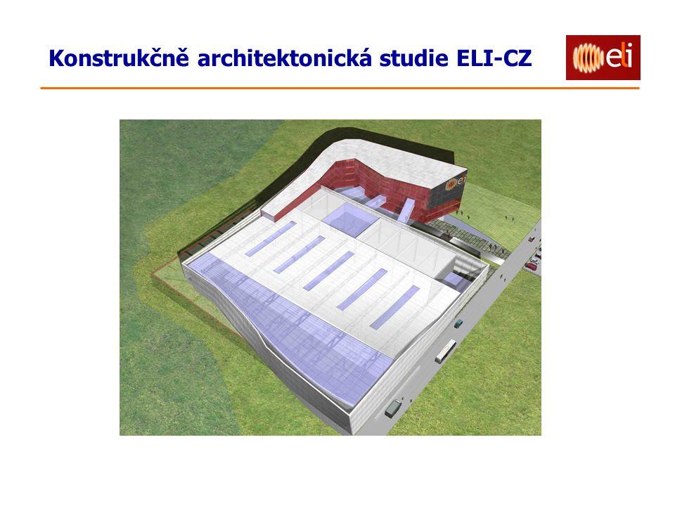 Konstrukčně architektonická studie ELI-CZ