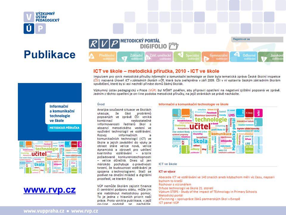Podpora koordinátorů ŠVP a ředitelů 1.Minikonference - vybrané téma, hosté (4 x za rok) – 6.