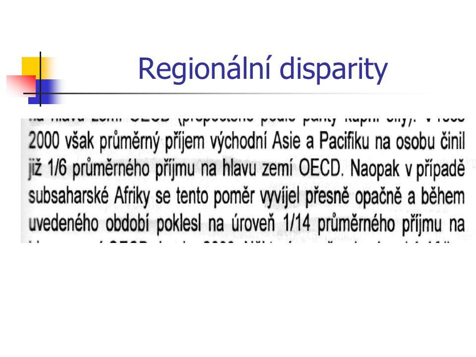 Regionální disparity