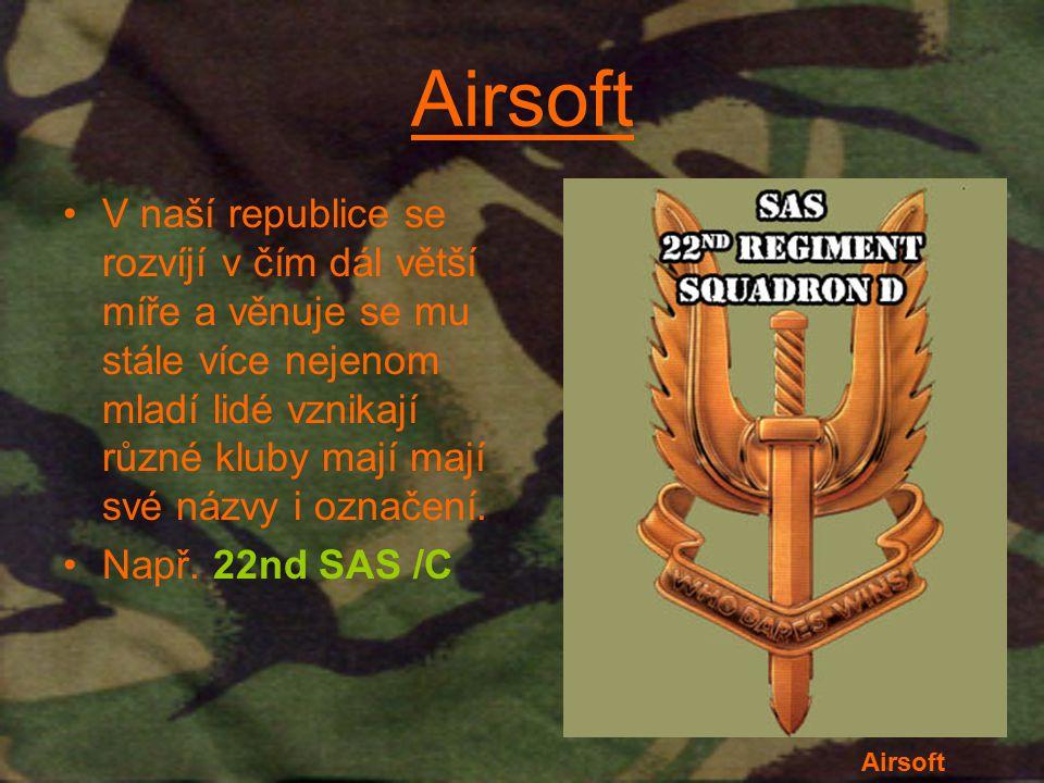 22nd SAS /C Airsoftový tým kterého mám tu čest být členem na akci bránicí zájmy Somálského lidu.