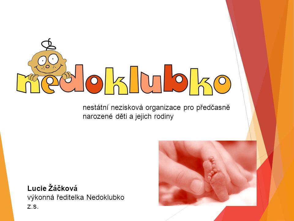 Lucie Žáčková výkonná ředitelka Nedoklubko z.s.