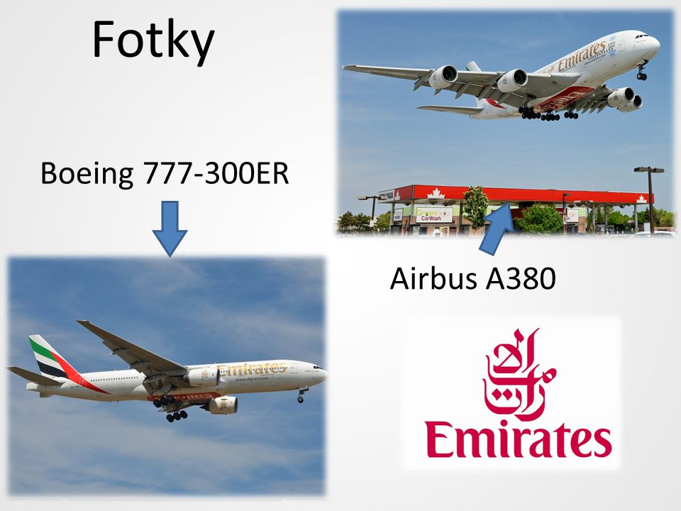 Fotky Boeing 777-300ER Airbus A380