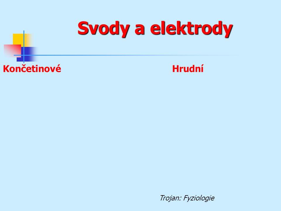 Svody a elektrody KončetinovéHrudní Trojan: Fyziologie