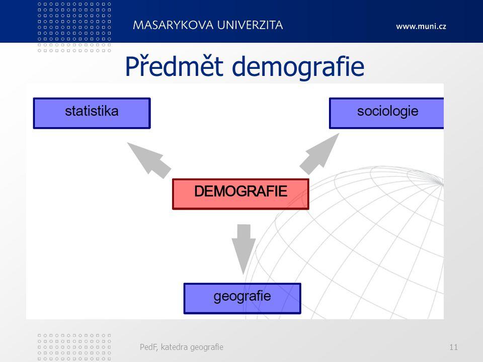 10 Definice Geodemografie = společenská věda o obyvatelstvu. X Demografie = zabývá se reproduckí lidských populací a studiem demo-sociálních systémů.