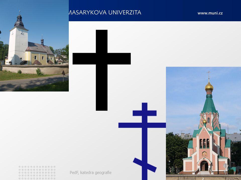 PedF, katedra geografie187 Protestanti v Evropě