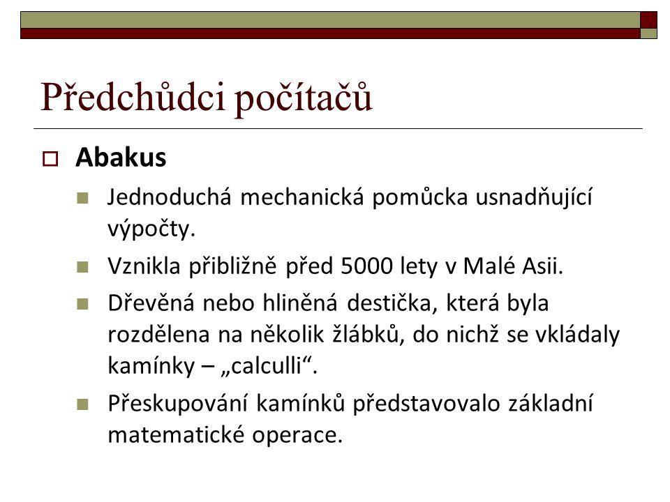  Salamínská tabule Nejstarší důkaz existence abaku.