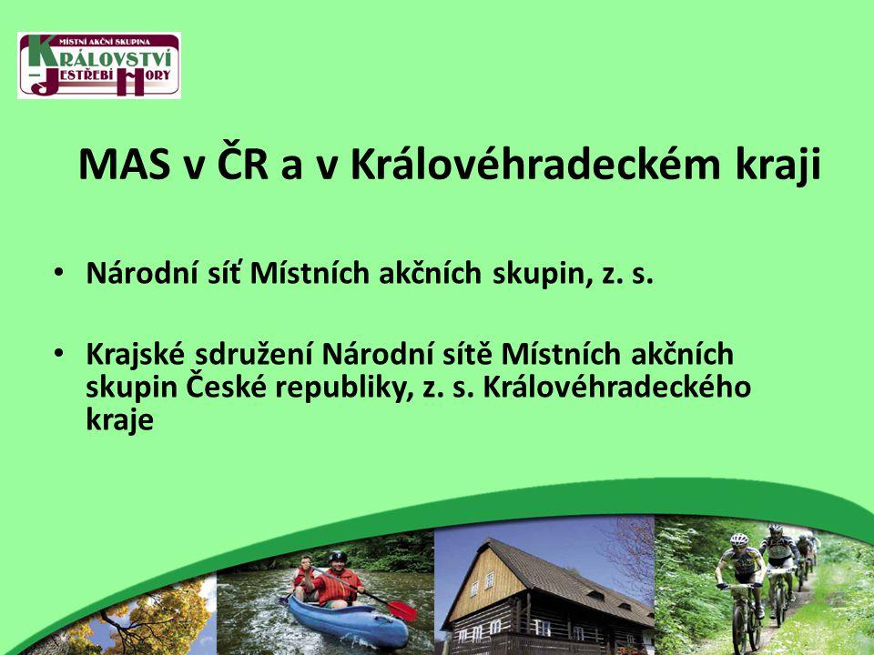 MAS v ČR a v Královéhradeckém kraji Národní síť Místních akčních skupin, z.