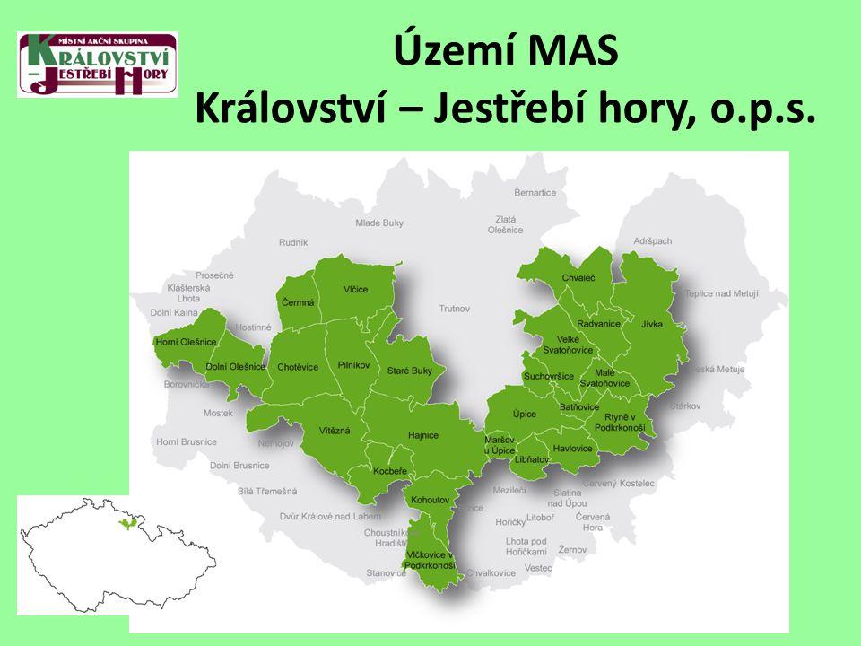 Území MAS Království – Jestřebí hory, o.p.s.