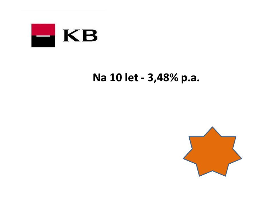 Na 10 let - 3,48% p.a.