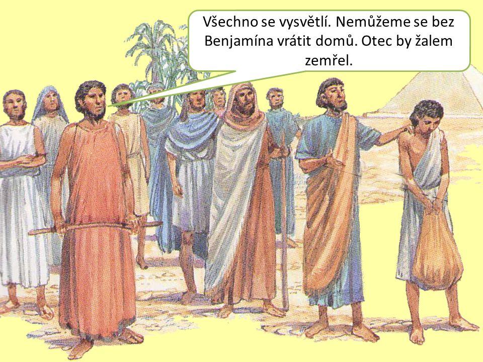 ÚKOL: Bratři už nechtěli více rmoutit svého otce Jakuba.