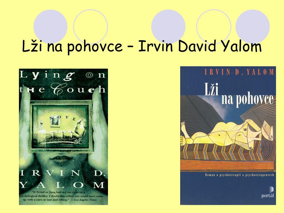 Lži na pohovce – Irvin David Yalom