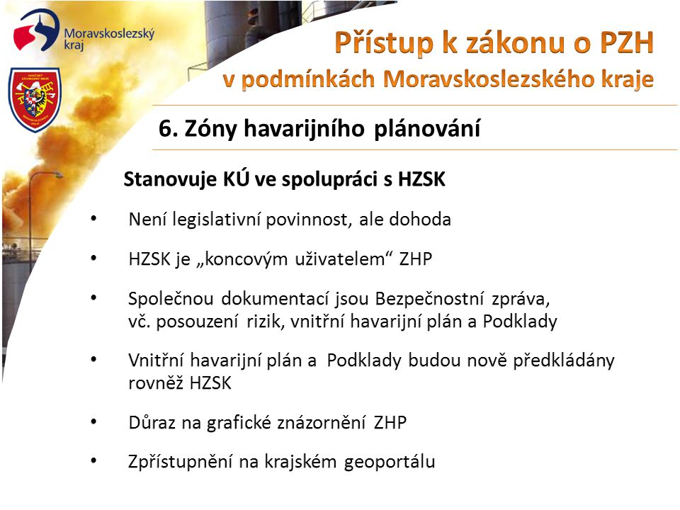 Zóna havarijního plánování BorsodChem MCHZ, s.r.o.