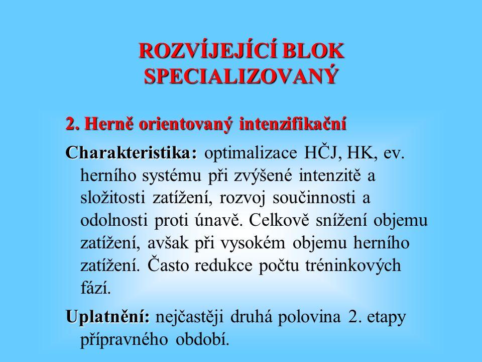 ROZVÍJEJÍCÍ BLOK SPECIALIZOVANÝ 2.