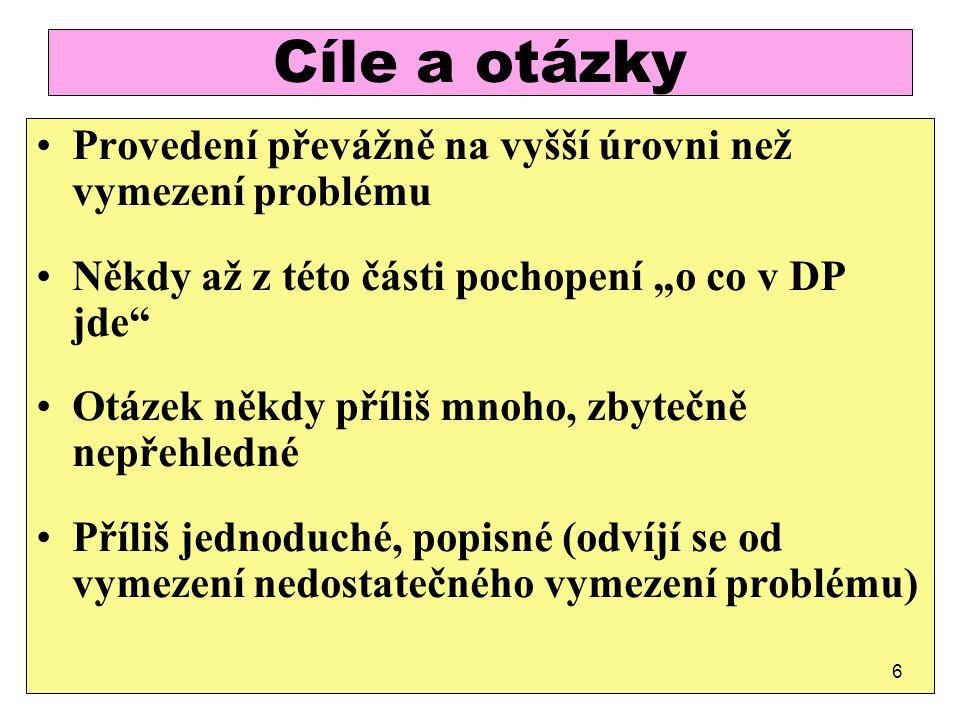 Výzkumné otázky - dobrý příklad 1.Proč a jak došlo v ČR při tvorbě právních norem upravujících přístup dětí cizinců třetích zemí ke zdravotní péči k odchylnému postupu v porovnání s občany ČR a EU.