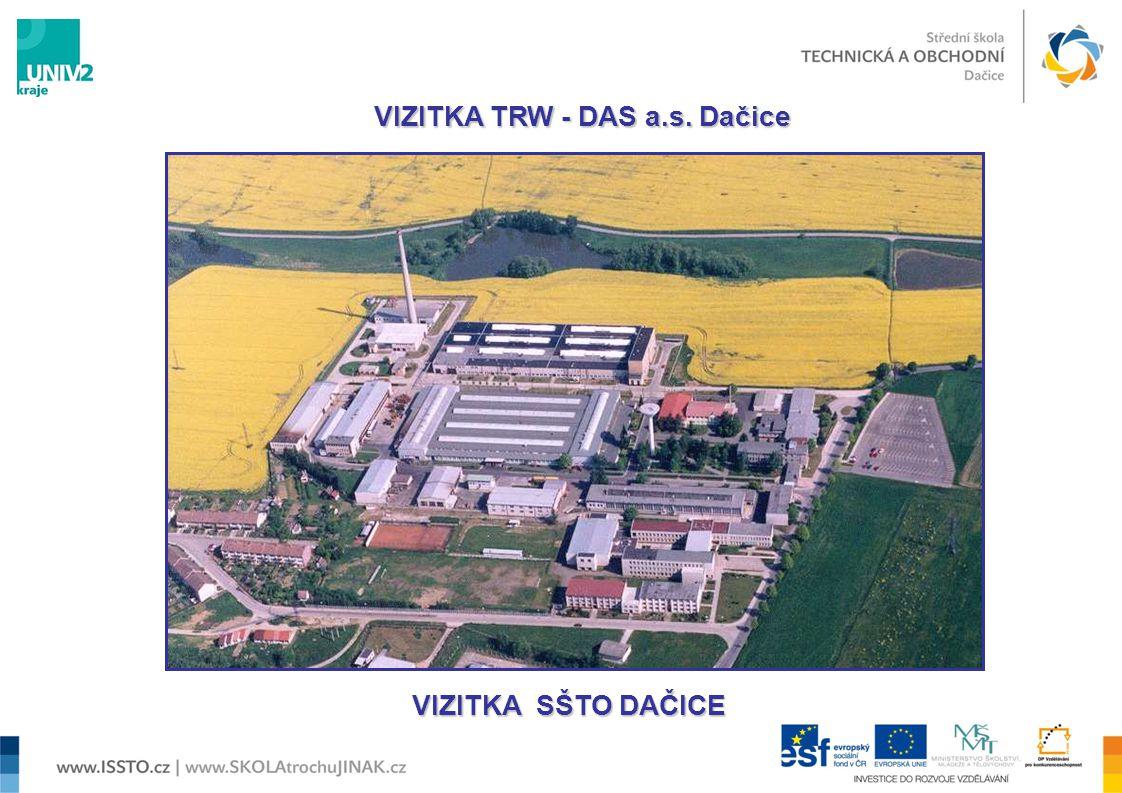  1961 - zahájení výstavby závodu 1990 - samostatný státní podnik DAS a 1993 - vznik TRW-DAS a.s.