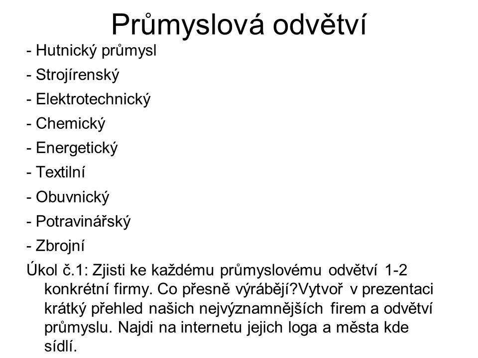Příklad vypracování Strojírenský p.