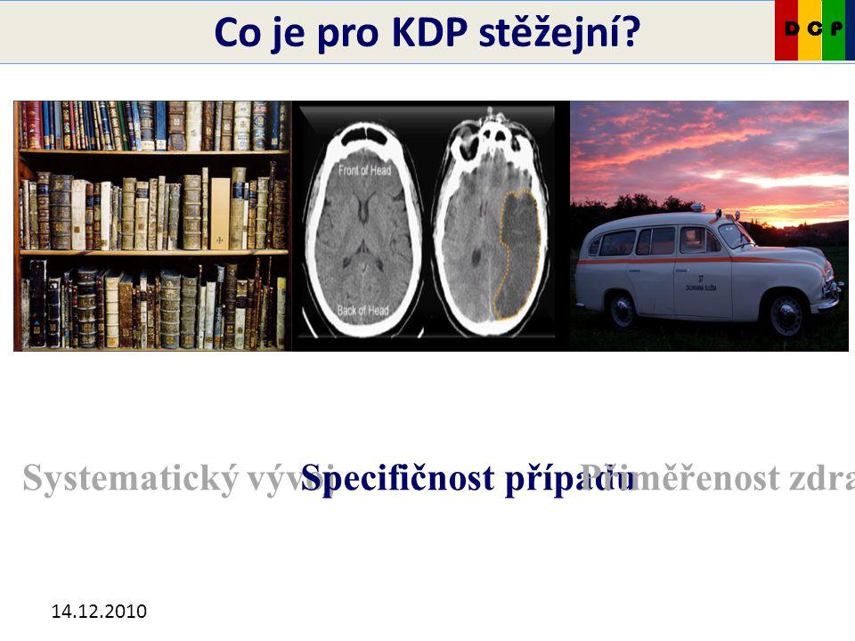 14.12.2010 Co je pro KDP stěžejní.