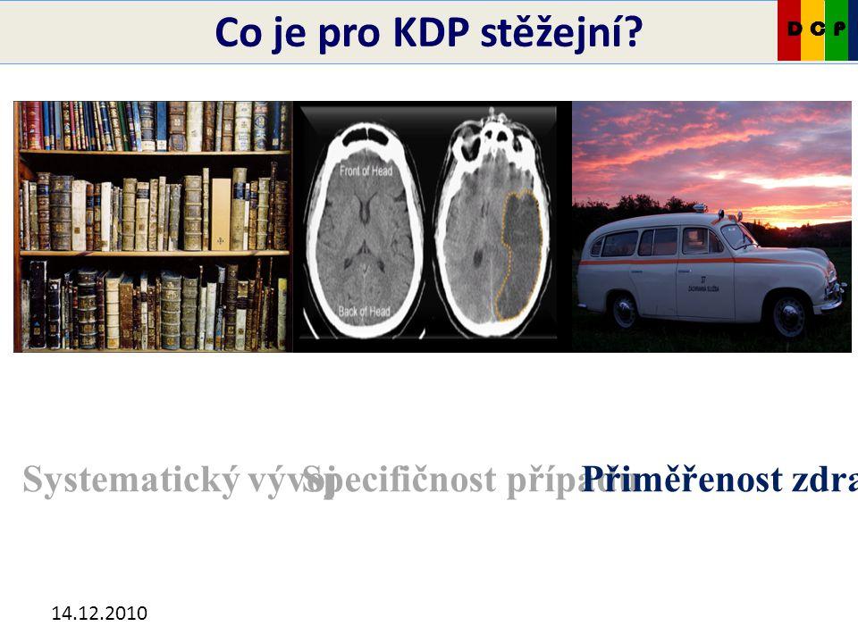 14.12.2010 Pozor na pojmovou kamufláž! CKDP
