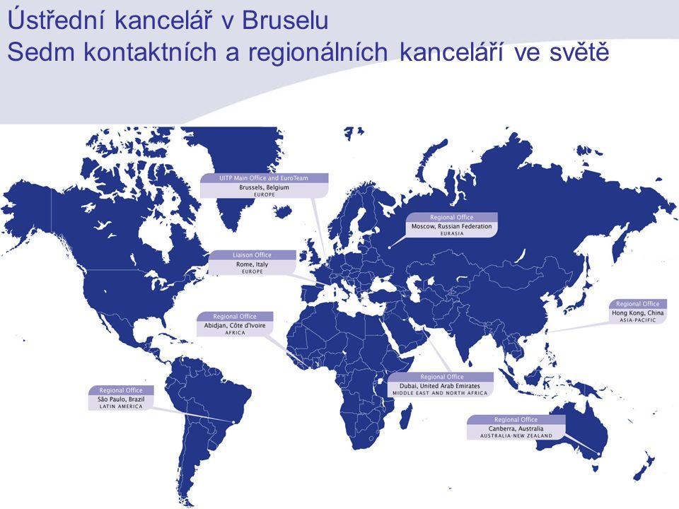 Ústřední kancelář v Bruselu Sedm kontaktních a regionálních kanceláří ve světě Network