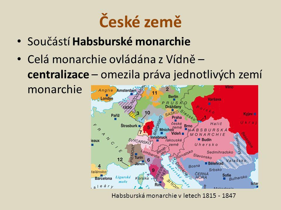 Snaha o germanizace Snaha posílit jednotu nesourodé říše – prosadit jediný jazyk - němčinu Snaha o germanizaci (poněmčování) – reakce: České národní uvědomění, pocit hrdosti nad minulostí národa, rodného jazyka
