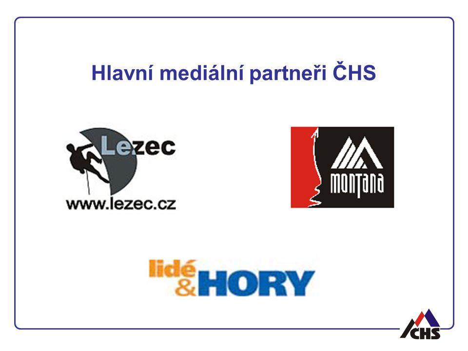 Hlavní mediální partneři ČHS
