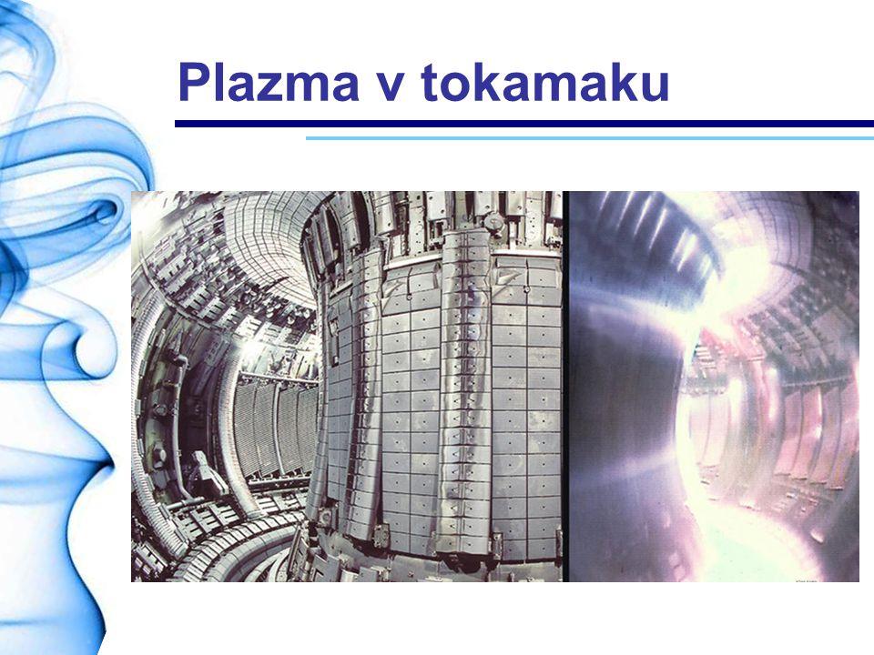Plazma v tokamaku