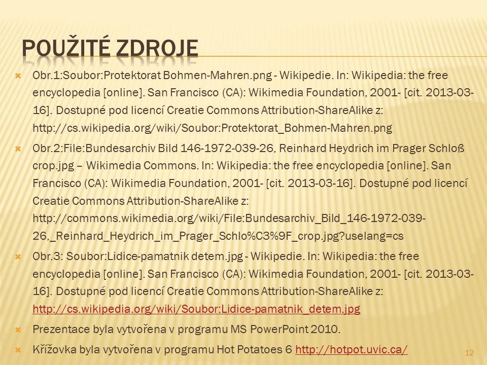  Obr.1:Soubor:Protektorat Bohmen-Mahren.png - Wikipedie.