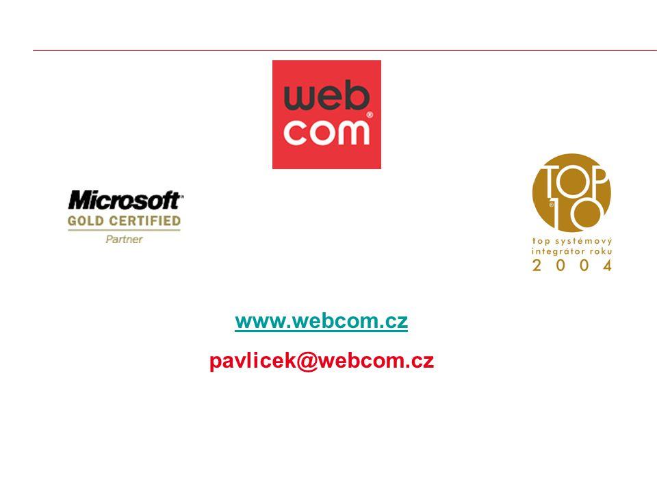 www.webcom.cz pavlicek@webcom.cz