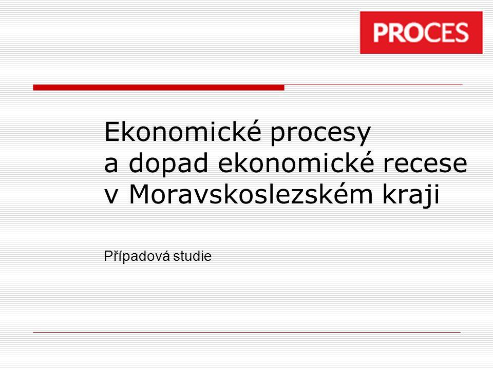 Ekonomické procesy a dopad ekonomické recese v Moravskoslezském kraji Případová studie