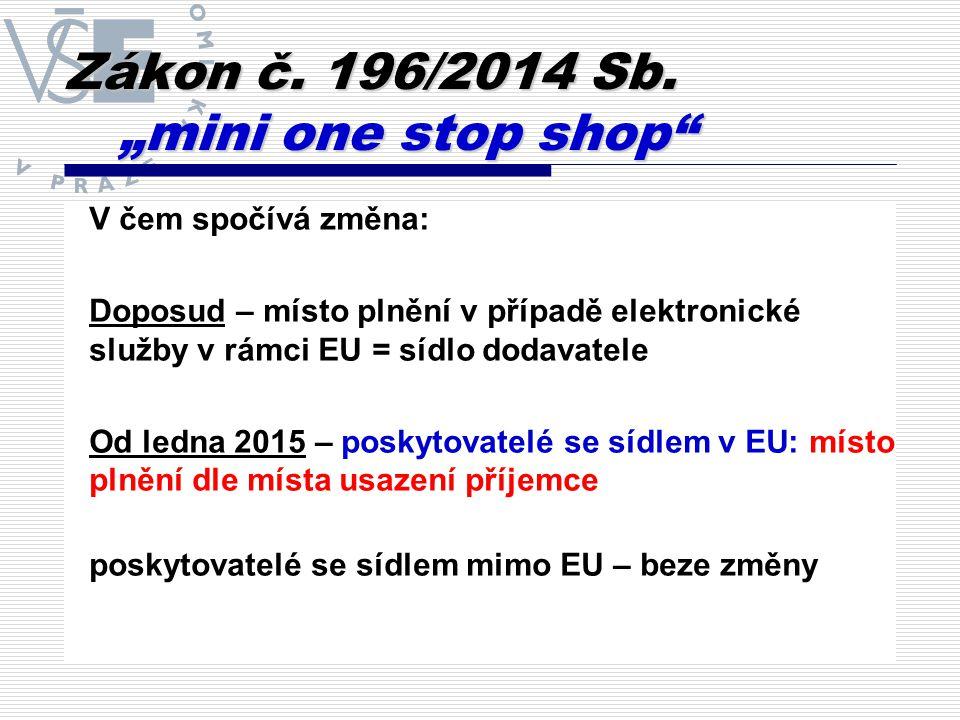 Zákon č.196/2014 Sb.