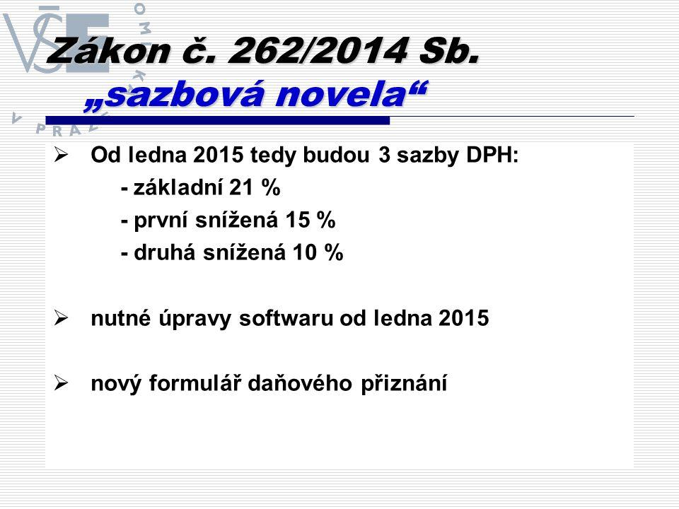 Zákon č. 262/2014 Sb.