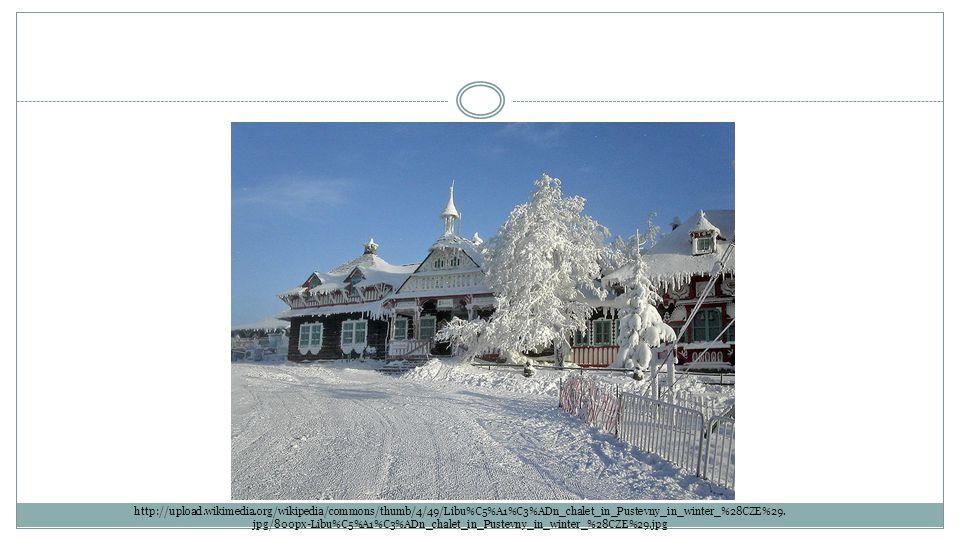 http://upload.wikimedia.org/wikipedia/commons/thumb/4/49/Libu%C5%A1%C3%ADn_chalet_in_Pustevny_in_winter_%28CZE%29.