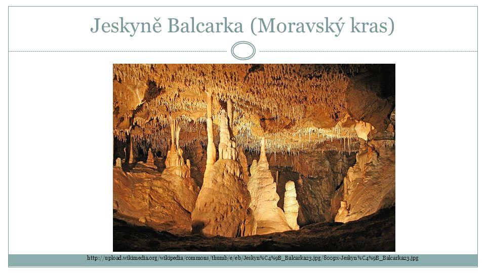 Jeskyně Balcarka (Moravský kras) http://upload.wikimedia.org/wikipedia/commons/thumb/e/eb/Jeskyn%C4%9B_Balcarka23.jpg/800px-Jeskyn%C4%9B_Balcarka23.jpg