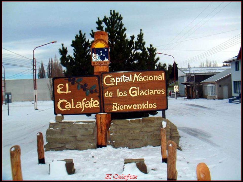 Foto: El Calafate, Argentina Automatická zvuková Slide Show.