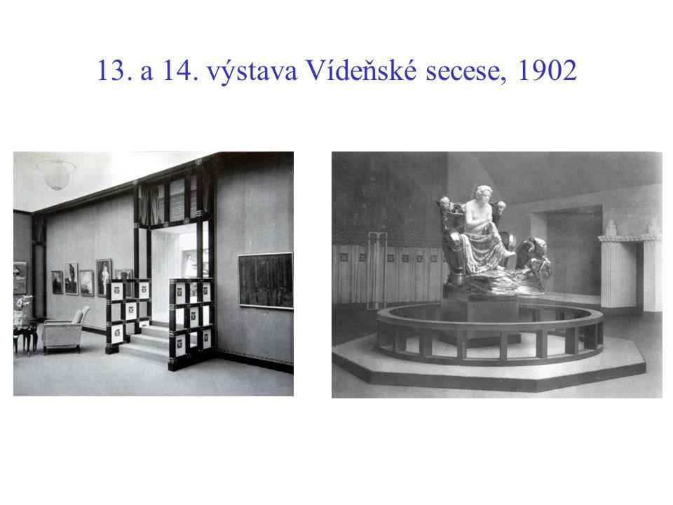 13. a 14. výstava Vídeňské secese, 1902
