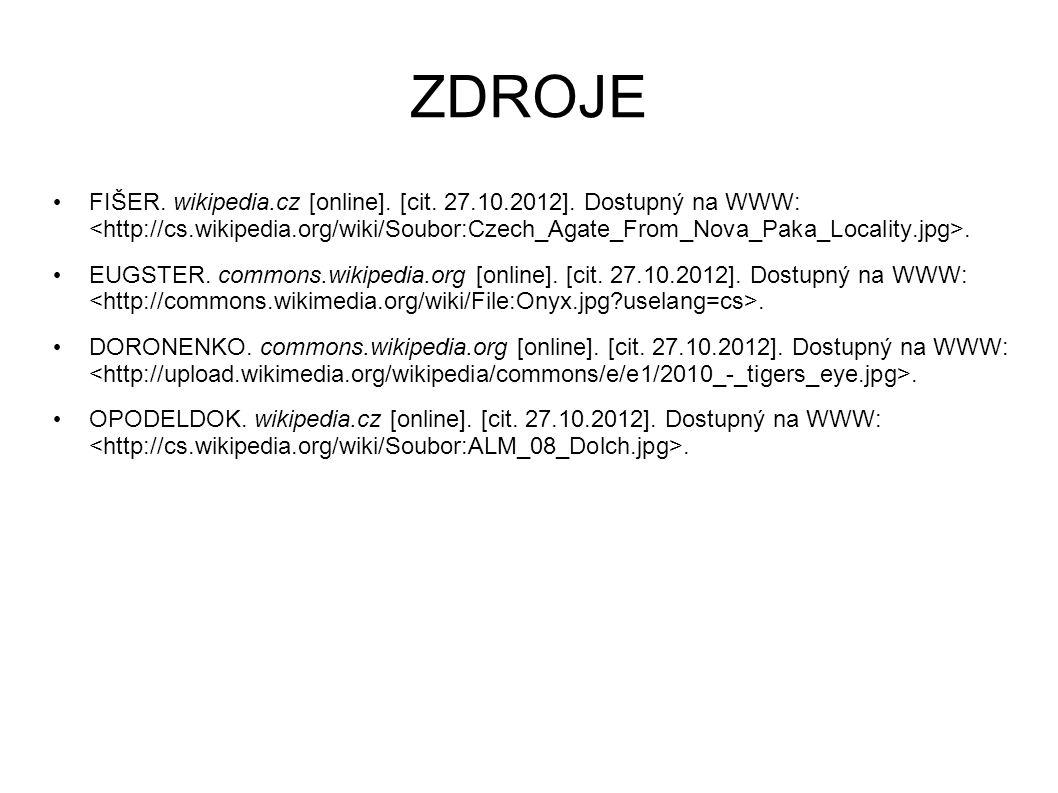 ZDROJE FIŠER. wikipedia.cz [online]. [cit. 27.10.2012].