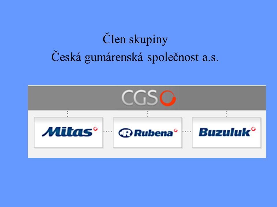 Člen skupiny Česká gumárenská společnost a.s.